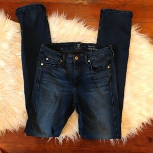 """7 For All Mankind """"Kimmie"""" Straight Leg Jeans"""